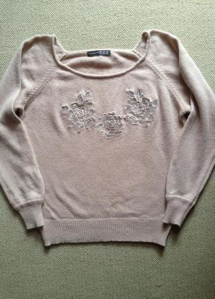 Натуральный свитер р 10