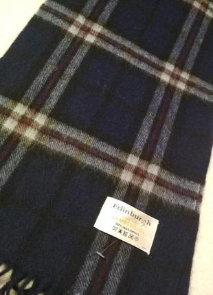 Edinburgh 💥шерстяной шарф в клетку