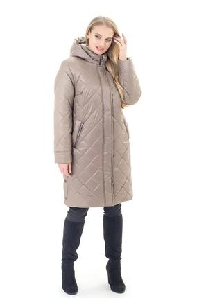 Женская куртка куртка удлиненная батал рр 52-70