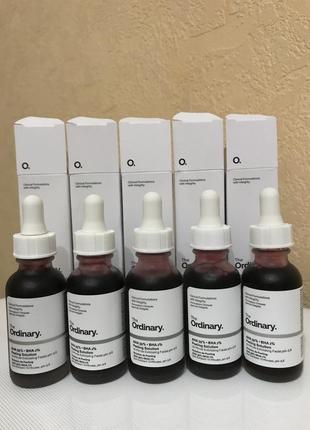 Кислотный пилинг для лица the ordinary aha 30% bha 2% peeling