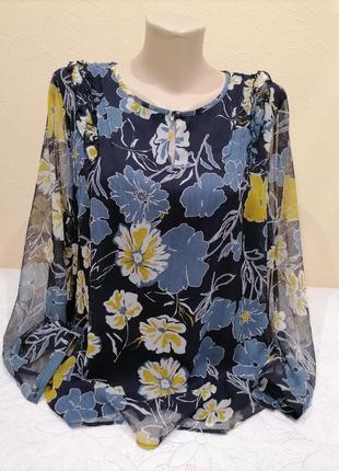 Блузка в цветочный принт s.oliver