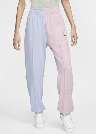 Nike трендовые широкие штаны,высокая посадка😍