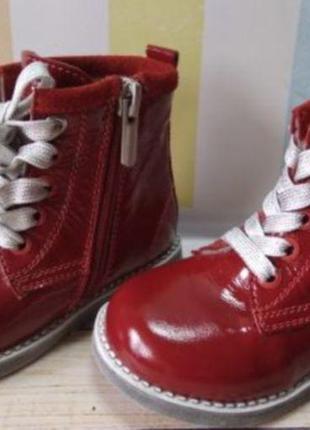Красивые ортопедические ботинки lapsi 22-25рры