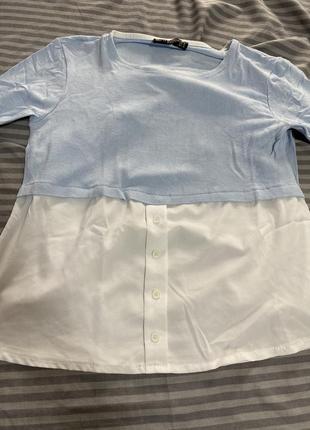 Свитер рубашка