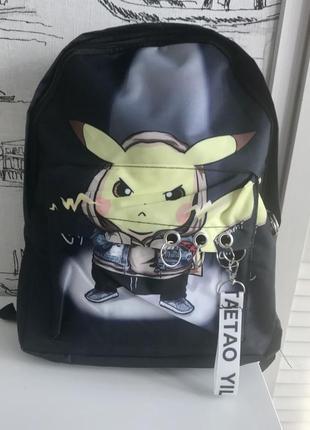 Рюкзак школьный пикачу покемон