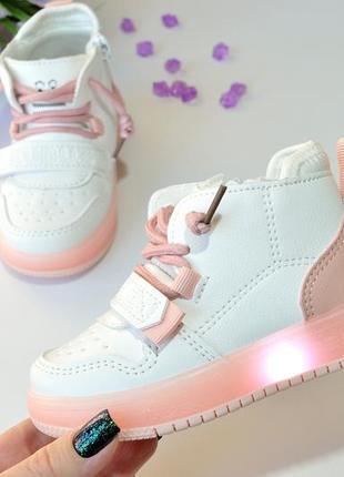 💕 красивые светящиеся ботиночки для крошек.💕