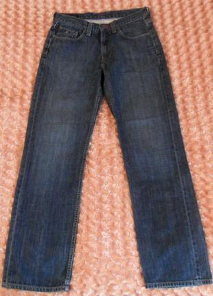 Мужские классические синие джинсы tommy hilfiger madison