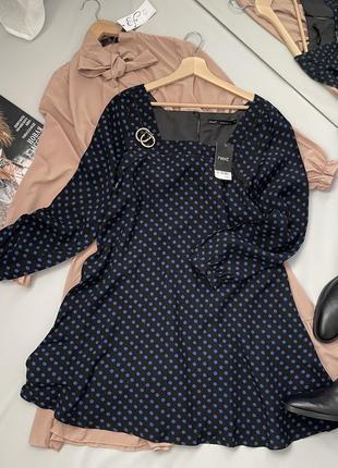 Платье свободный крой квадратный вырез2 фото