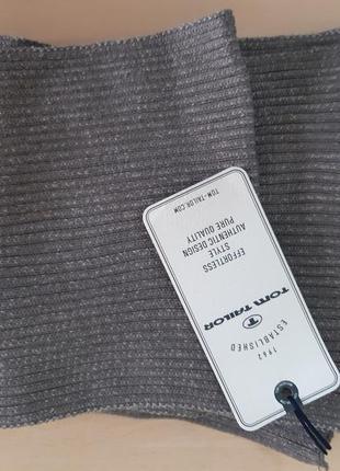 Стильный шарф tom tailor,  оригинал