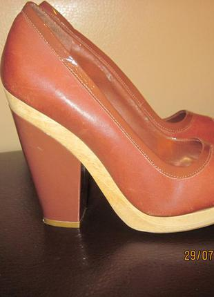 Супер красивые туфли 38 р-р