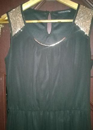 Обалденное платье в пол из шифона