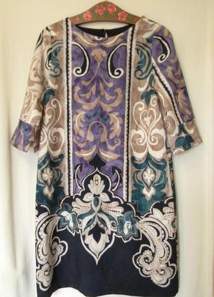 Платье 3/4 рукав италия р.м