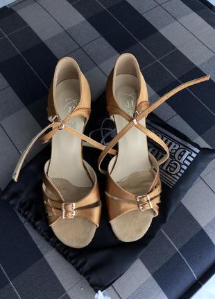 Туфли бальные/босоножки, босоніжки для бальних танців