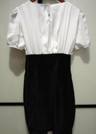 Waggon paris платье белое
