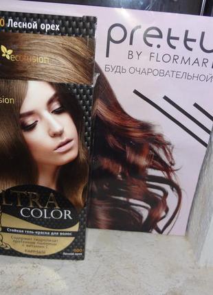 """Гель-краска для волос ultra color """"лесной орех"""" от farmasi (ecofusion)"""