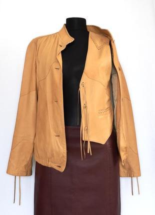 Шкіряна куртка і жилетка 80-х fritala