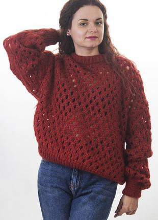 Прозрачный свитер reserved