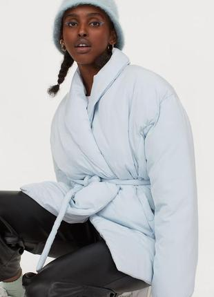 Женская куртка,модная куртка , картка под пояс2 фото