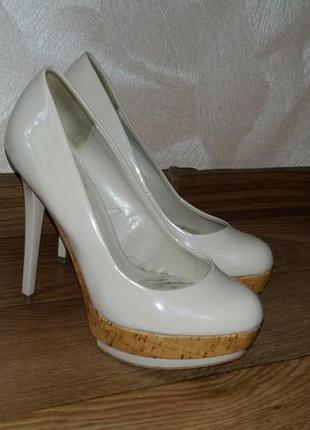 Туфли на каблуке zara