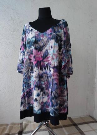 Блузка с напуском