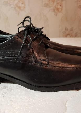 Мужские кожаные туфли clark's