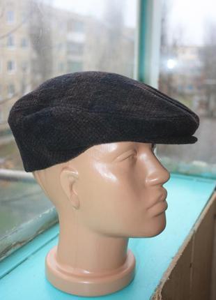 Стильная кепка уточка английский кепи рокабилли винтаж ретро