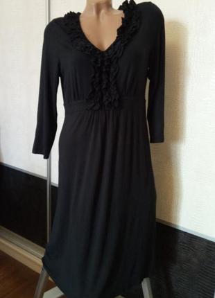 Чёрное платье boden