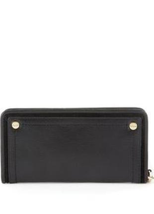 Большой восхитительный кожаный кошелек-клатч marks & spencer