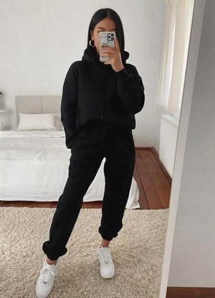 Женский теплый костюм,женский прогулочный костюм,женский спортивный костюм3 фото