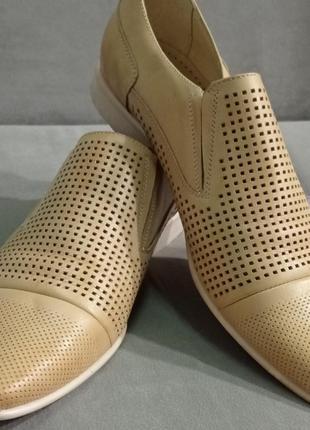 Мужские кожаные новые туфли strado весна осень лоферы
