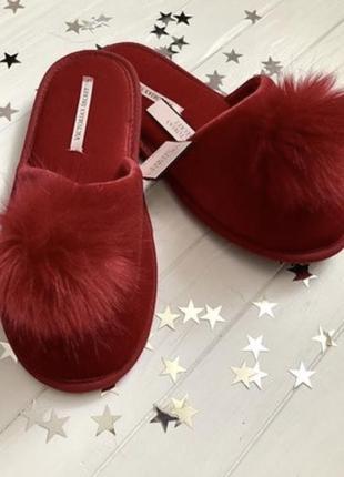 Тапочки тапки обувь для дома victoria's secret