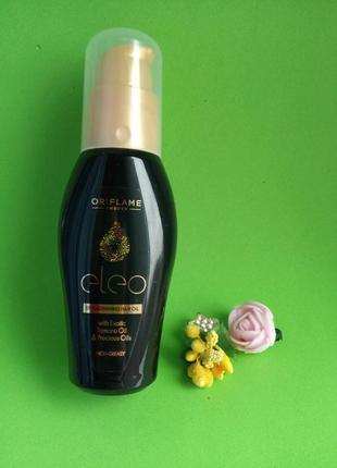 Зміцнювальна олія для волосся eleo