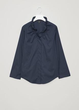 Хлопковая блуза cos