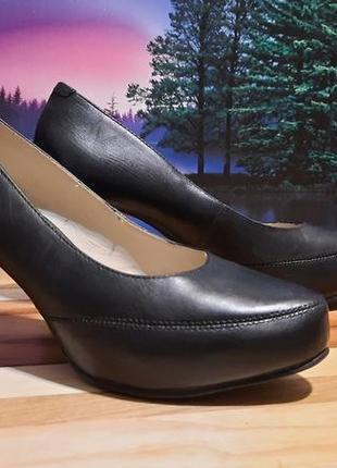 Шикарные и очень удобные кожаные туфли махх, р 37