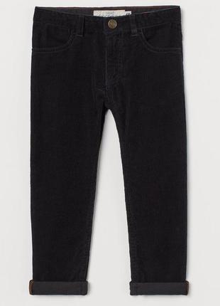 Вельветовые брюки h&m для мальчика