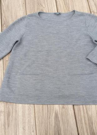 Стильная актуальна я кофта cos logg h&m топ свитер джемпер реглан