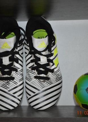 Футбольные кроссовки adidas nimeziz2 фото