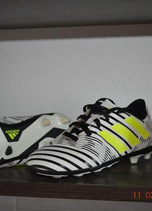 Футбольные кроссовки adidas nimeziz5 фото