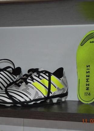 Футбольные кроссовки adidas nimeziz4 фото