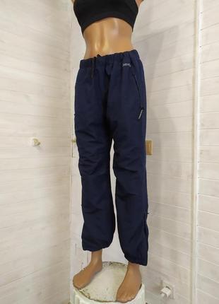 Классные спортивные штаны на сетке подкладке l\xl