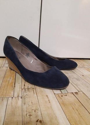 Брендовые, кожаные туфли от soleflex