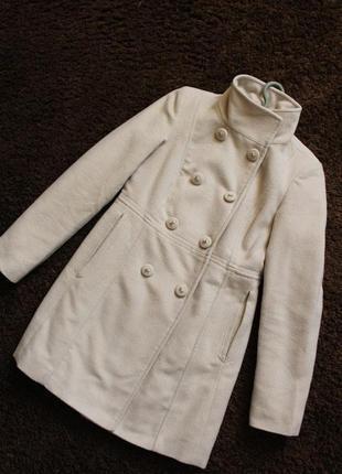 Пальто mohito xxs с воротком стойкой