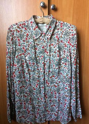 Рубашка из 100% вискозы от marks&spencer