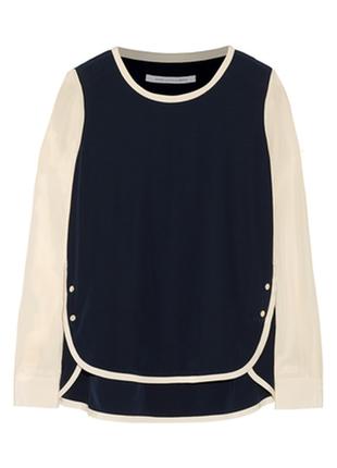 Шёлковая блуза diane von furstenberg