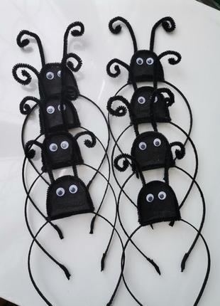 Ободок для образа жука