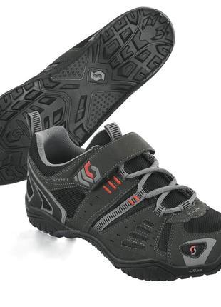 Велообувь scott trail mountain bike cycling shoes mtb велотуфли (39)
