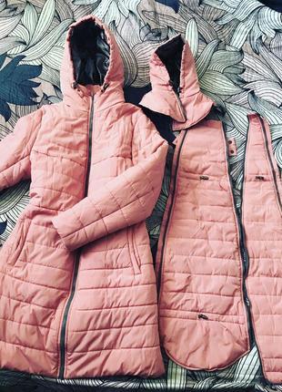 Слингокуртка куртка пальто для беременных