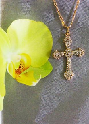 Крест медицинское золото