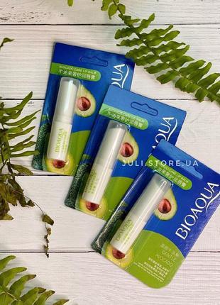 Бальзам для губ bioaqua avocado lip balm с экстрактом авокадо🥑
