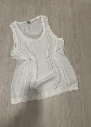 Футболка блуза летняя белая